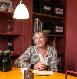Ruth Malle sætter pris på at Socialtilsyn Syd kommer på besøg.
