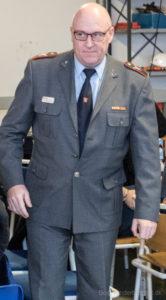 Stationsleder Jesper Stig Andersen har fået opgaver på flere stationer.
