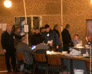 Cirka 15.30 havde godt 35 procent af Sønderskov-Skolens  vælgere stemt.