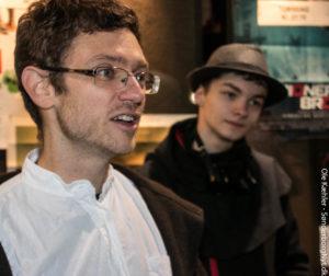 Mathias Granum legaliserer slikspisning i biografen.