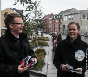 Måske er det Benny Engelbrecht og Ellen Trane Nørbys indsats, der fik flere sendt til stemmeurnerne.