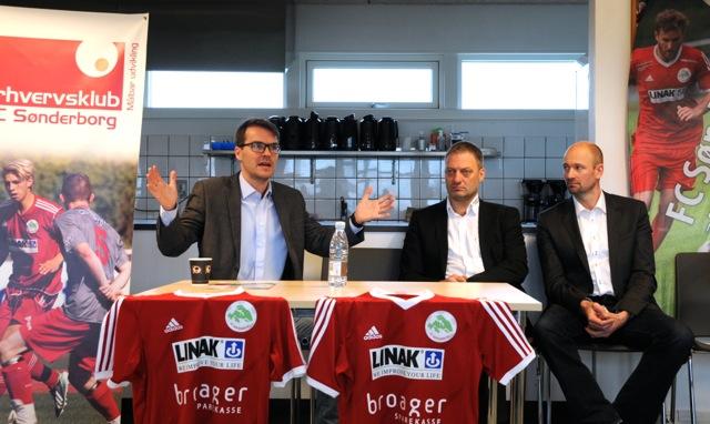 Fra venstre: Rasmus Andreassen, Lars Christensen og Nørgaard
