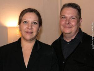 Trine Lindén og Søren Barkmann byttede bestyrelsesposter.