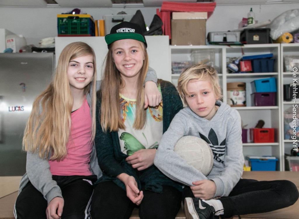 Emilie, Jessica og Emil er ved at være klar til MGP i Horsens.