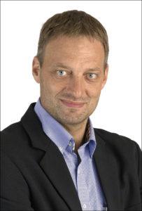 Sparekassedirektør Lars Christensen.