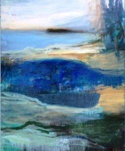 Maleri af Gitte Buch