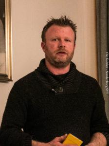 Allan Venderby nyder godt af de mange indbrud, der gør, at folk ønsker at sikre sig.