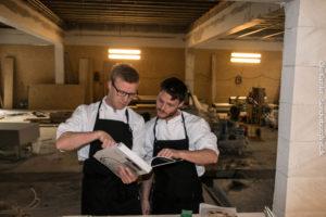 Jesper Kopck og Sune Axelsen er mere end klar til at rykke indenfor i de nye lokaler.