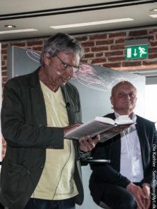 Sune Pilgaard læser fra Niels-Birger Danielsens Frihedens Pris.