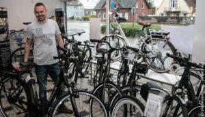 Jens Matthiesen er klar til at guide dig til den rette el-cykel.