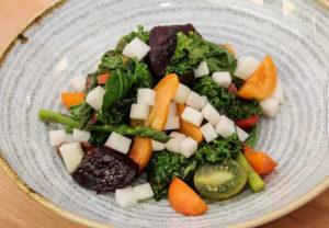 Salater skal have flotte farver og også hele spektret af smagsnuancer.