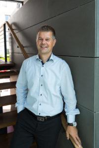 Morten Lund har arbejdet i Broager Sparekasse i 18 år.