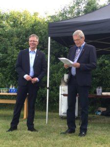 John Jørgensen og Kaj Petersen.