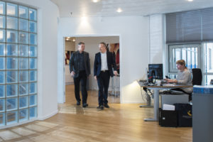 Flemming Smidt Jensen og Niels Christian Schjøth. <div class=