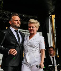 Jesper Lundgren og Trine Gadeberg.