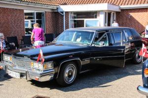 Nogle af de ældre satte sig bagi den her bil. Præcis som Bitten Clausen gjorde, dengang det var hendes.