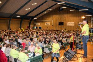 Ligesom sidste år, så skal Helge Larsenogså i år sige tak til de frivillige.