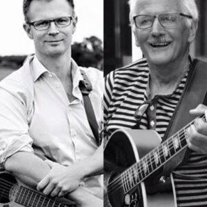 Benny Engelbrecht og Tim Hansen.
