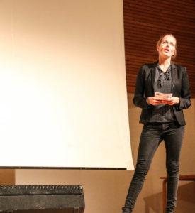 Ellen Trane N'ørby fortæller, at den eneste vigtige karakter, det er den, som du er.