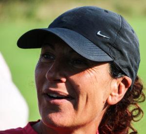 Camilla Pantel er med på Bosagers løbehold.