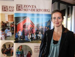 Ligestillingsminister Ellen Trane Nørby åbnede landsmødet med sit syn på ligestillingen.