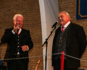 Jan Schou og Arne Lundemann fik stemningen helt i top.