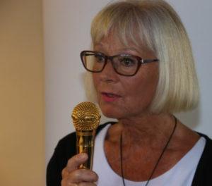 Frivilligformand Jette Sindberg roser Torsdagsgruppen for alt det, som den gør for de ældre.
