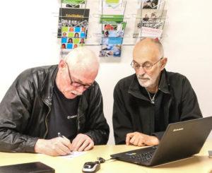 Når der skal Facebook på computeren, så er der hjælp at hente hos Ældresagen.